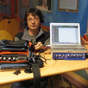 Benoit Stefani en tournage 300X300